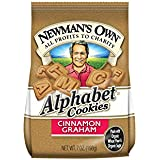Newman's Own Alphabet Cookies, Cinnamon Graham, 7-Ounce Bags (Pack of 6)