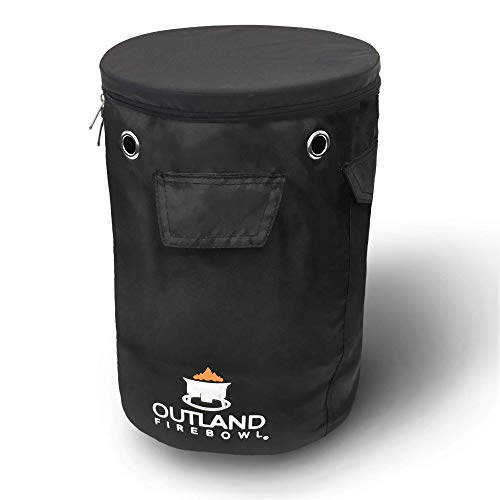 Outland Firebowl UV and Weather Resistant 740 Propane Gas Tank Cover with Stable Tabletop Feature, Fits Standard 20 lb Tank Cylinder, Ventilated with Storage Pocket -