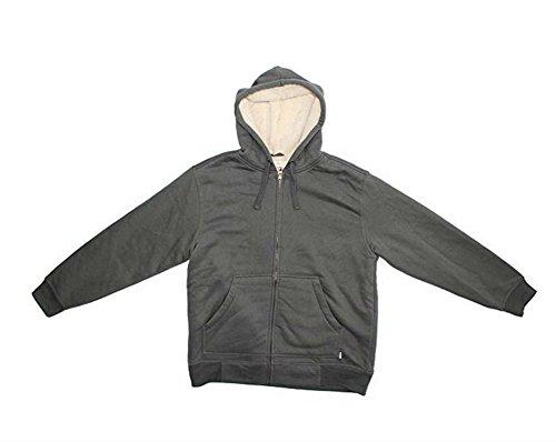 Vintage Fleece Hooded Zip Sweatshirt - 6