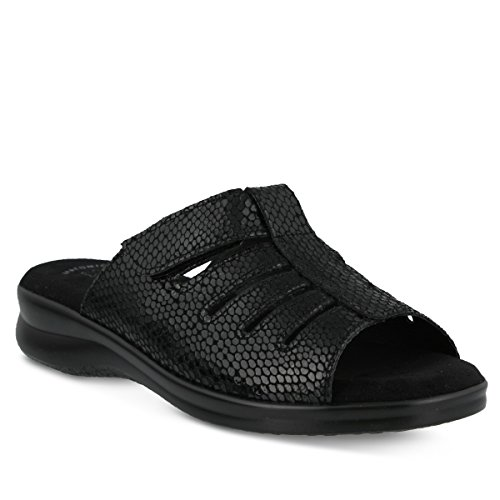 Sandales À Glissière Vamp Pour Femmes Flexus