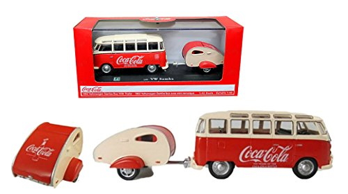1/43 1962 VW Samba Bus with Trailer: Celebrating One Hundred Years of The Contour Bottle
