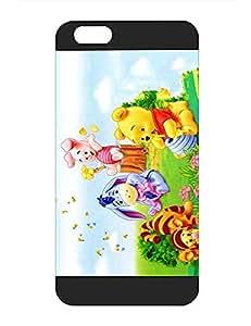 IPhone 6 6s Plus Funda Case (5.5 inch), Disney Winnie the Pooh Bear Fit Perfect Hard Plastic Back Shell Anti Shock