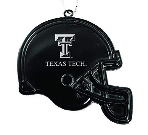 Texas Tech University Football - Texas Tech University - Chirstmas Holiday Football Helmet Ornament - Black