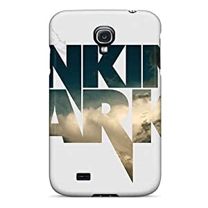 JamesKrisky Samsung Galaxy S4 Bumper Hard Phone Case Customized Beautiful Linkin Park Pattern [UdE19467beKD]