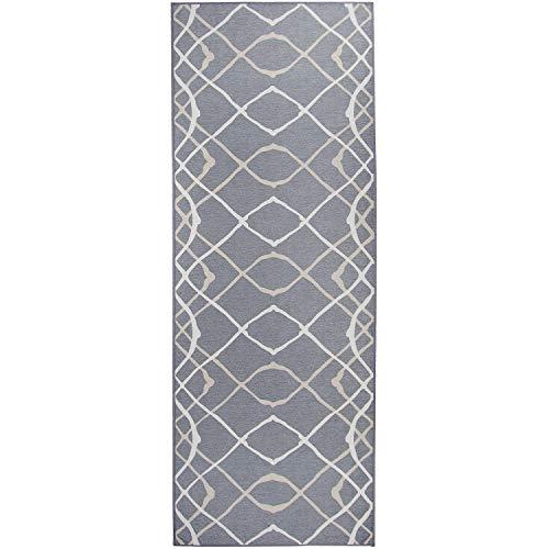 RUGGABLE Amara Grey Washable Indoor/Outdoor Stain Resistant 2.5'x7' (30