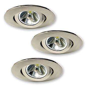 elco lighting e342n mini led recessed undercabinet light kit 3w