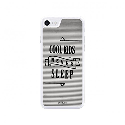 Coque + Verre Trempé pour iPhone 7 SmartCase® COOL KIDS NEVER SLEEP