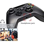 Aubess-for-Xbox-One-Controller-Wired-Pink-72ft-Anti-Interference-Wired-USB-Gamepad-Controller-Dual-Vibration-Smooth-Gaming-for-Xbox-One-Wins-7810-Controller