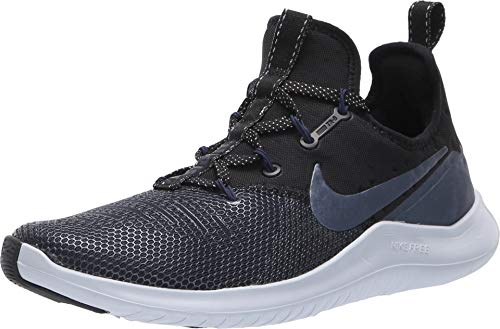 Nike Women's WMNS Free TR 8 MTLC, Black/MTLC Armory NVY, 9 M US (Outdoor Concepts)