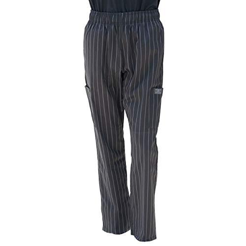 Chef Code Chef Pants, Charcoal/Black, 3X-Large