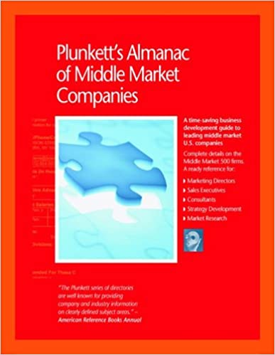 Plunkett's Almanac of Middle Market Companies 2007:  Middle