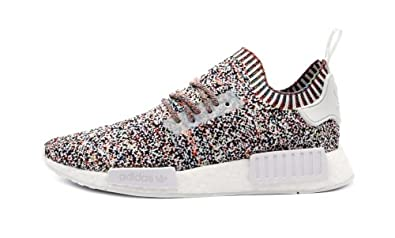 Adidas NMD R1 Primeknit Color Static Sneakers Online Sale