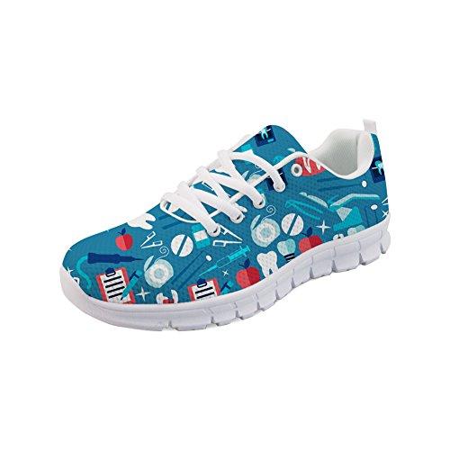 HUGS IDEA de Dental 1 Para Running CC441AQ Zapatillas Mujer Y rrxTvg