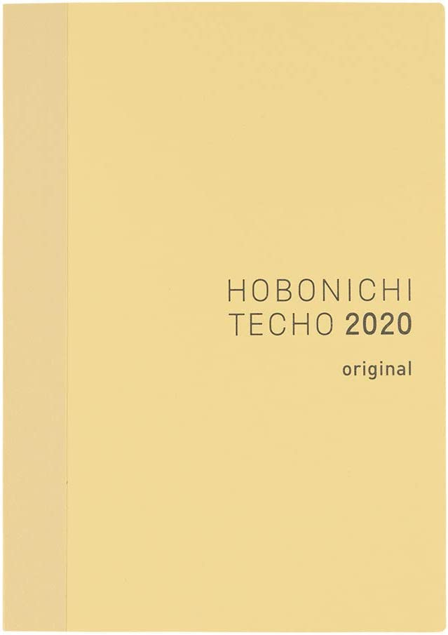 Hobonichi Techo Original Book (Japonés/A6/Ene 2020 Start/Mon Start)