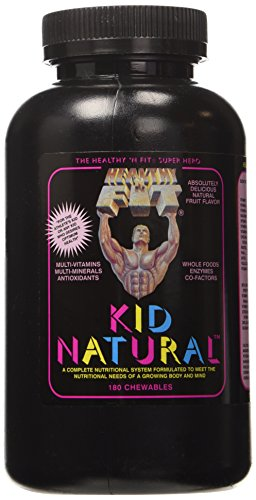 Healthy'N Fit Nutritionals Kid fruits naturels--180 comprimés à croquer