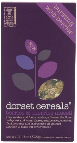Dorset Cereals Muesli, Berries and Cherries, 11.46-Ounce (Pack of 5) by Dorset Cereals