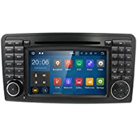 Android 7.1 Quad Core Car In Dash Radio For Mercedes Benz ML CLASS W164 2005-2012 & ML300 & ML350 & ML450 & ML500 DVD Player GPS Navigation 7 Car PC Stereo Head Unit