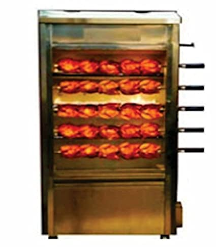 Commercial Grill Chicken Cooking Machine (Multicolour, Stainless Steel)