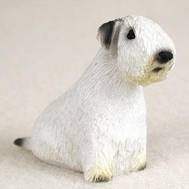 Sealyham Terrier Miniature Dog Figurine Sealyham Terrier Dog Figurine
