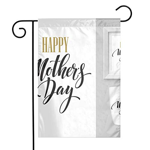FGAD Mothers Day Hand Lettering Collection Mock-up Vertical Garden Flag 1218 (in) Single-Sided Pattern for Decorate Courtyards, Gardens, Pots, Etc.