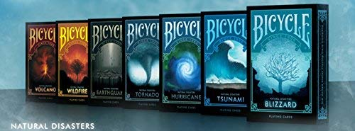 Bicycle Natural Disaster Series Playing Cards 7 Deck Set