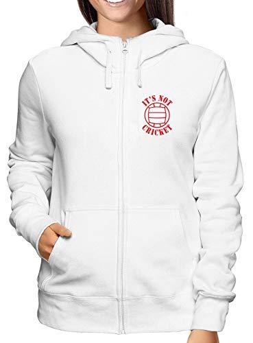 Not Felpa Cricket Zip shirtshock Donna Bianca Its T Wc1400 0HTqwxPp