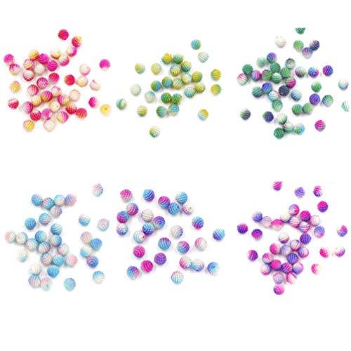 Disco Ball Keyrings - SUPVOX 6 Packs Mixed Color Shamballa