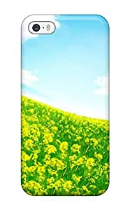 Protective Tpu Case With Fashion Design For Iphone 5/5s (fresh Air )