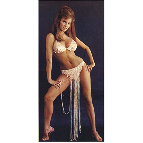 Raquel Welch 8x10 Photo One Million Years B.C. The Three Musketeers Legally Blonde Beaded Harem/Belly Dance Bikini kn