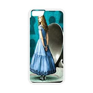 "C-EUR Customized Alice in Wonderland Pattern Hard Phone Case For iPhone 6 Plus (5.5"")"