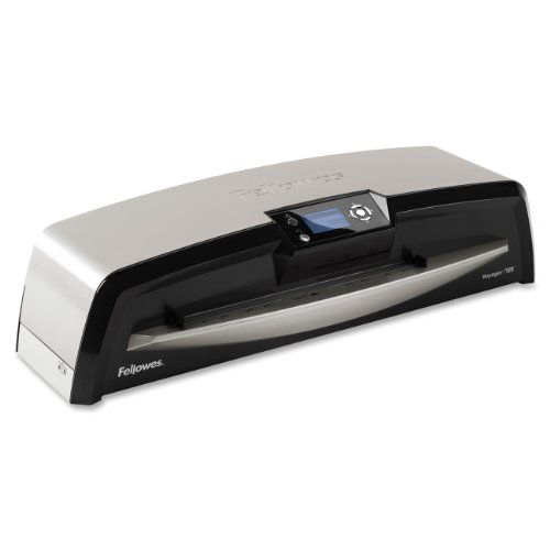 Cool Laminator (Fellowes Laminator Voyager 125, Automatic Features, Jam Free Laminating Machine, with Laminating Pouches Kit (5218601))