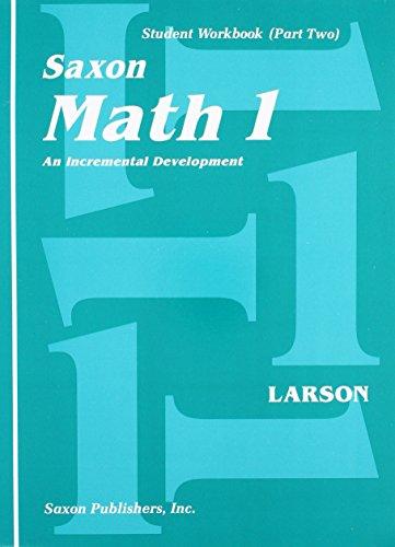 Saxon Math 1: An Incremental Development, Part 1 and 2 by SAXON PUBLISHERS (Image #1)