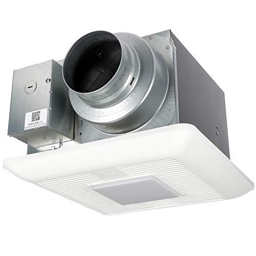 Panasonic FV-05-11VKL2 WhisperGreen Select Fan/Light Combination, Customizable Fan, Speed Selector 50-80-110 CFM