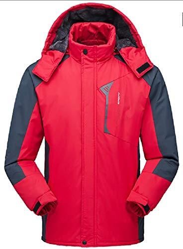 Cappotto Uomini Sci Sport Impermeabile S Rosso Giacca Degli Impermeabile Antivento Montagna Ttyllmao 87qwExq5g