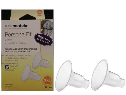 Medela PersonalFit Breastshields (2), Size: XX-Large, (36mm), in Retail Packaging (Factory Sealed) #87084