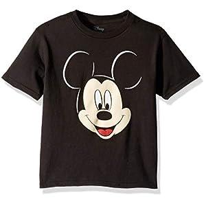 Disney Boys' Toddler Mickey Mouse Big Face Short Sleeve Tshirt