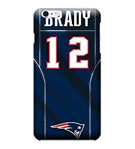 iPhone 6 Cases, NFL - Tom Brady - New England Patriots - iPhone 6 Cases - High Quality PC Case by ruishername