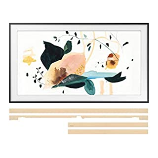 "Samsung QN43LS03TA 43"" Frame QLED Smart 4K Ultra High Definition TV with a Samsung VG-SCFT43BE 43"" Beige Customizable Bezel for The Frame TV (2020)"