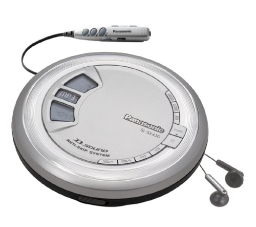 Panasonic SL-SX430 Portable CD/MP3 Player with D-Sound (Discontinued by (Panasonic Mp3)