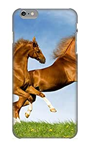 Ellent Iphone 6 Plus Case Tpu Cover Back Skin Protector Animal Horse For Lovers