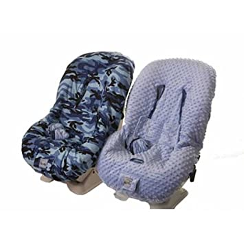 Blue Camo Toddler Car Seat Cover By Itzy Ritzy