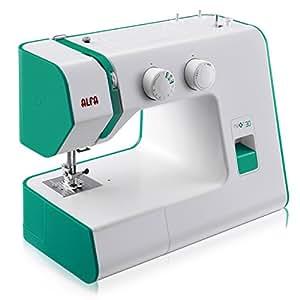 Alfa NEXT 30 Spring - Máquina de coser, 18 puntadas, color violeta