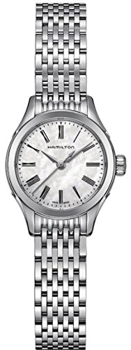 Hamilton Timeless Classic Valiant Mother of Pearl Dial Stainless Steel Ladies ()