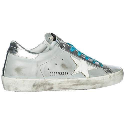 Gris Golden Superstar Femme Cuir en Baskets Goose Sneakers Chaussures nPRqU8A