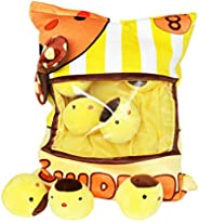Nenalayo Cute Throw Pillow Stuffed Animal Toys Creative Gifts for Teens Girls Kids