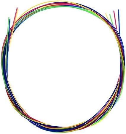 Juego de 4 cuerdas para guitarra, color blanco, para ukelele ...