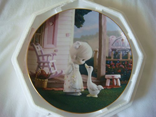 "Enesco Precious Moments Collection ""Make a Joyful Noise"" Collector Plate"