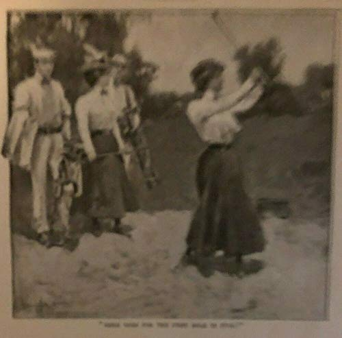 1900 Early Golf Story Illustrations Women Golfers