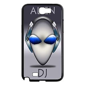 Samsung Galaxy Note 2 N7100 Phone Case Alien H8C8878570 Kimberly Kurzendoerfer