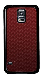 carry Samsung Galaxy S5 cover Vintage Pattern Red Cool PC Black Custom Samsung Galaxy S5 Case Cover by icecream design
